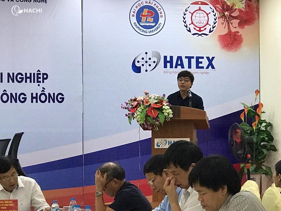 HACHI vinh dự được tham gia buổi hội thảo với vai trò đại biểu cho một số doanh nghiệp khởi nghiệp